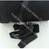 Solid Color FOE Ribbon-#030 black