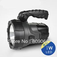 Solar flashlight charge flashlight searchlight portable camping light strong light emergency lighting