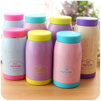 Free shipping Tatu lovely ladies new fashion stainless steel mug Vacuum Flasks   Thermoses