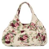 2013 Hot sale canvas handbag Women cloth tote bag Fashionable handbag Small size shoulder bag for children girls Free shipping