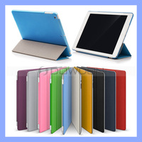 Ultra Slim Leather Case for iPad Air Smart Cover with Hard Back Cover Skin