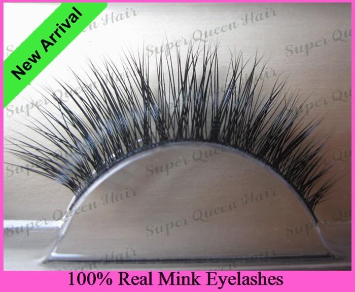 Free Shipping 4pcs/lot RMZ005  Celerbrity 100% real mink eyelash private lablel services siberian mink fur eyelash(China (Mainland))