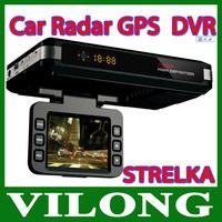 GPS Performance Radar detector Car Laser Detector Fixed signals and Moveable signals   radar detector Built-in GPS  dvr