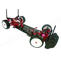 Aluminium alloy & Carbon fiber 1:10 RC Racing Car Kit For SAKURA XI