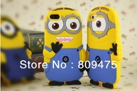 New Despicable Me Minion 3D Soft Silicone Protective Case for Apple iPhone 5 5S
