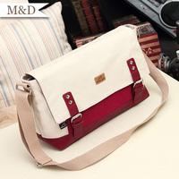 2014 New Fahion Women Canvas Handbag Korean Style Shoulder Bag Hotsale Wommen Messenger Bag Convenient Bag wholesale