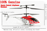 100% Genuine Remote Control Helicopter /Remote Control aircraft flash, Super impact, The tail Can bend