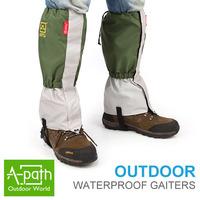 Winter warm breathable 1Pair Waterproof Outdoor Hiking Skiing Climbing Hunting Trekking Snow Legging Gaiters Legwarmers