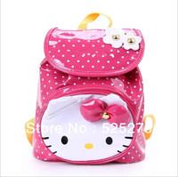free shipping  2013 Hot sale 2~6 Age children backpacks brand cartoon bag fashion children school bags retail kindergarten bag