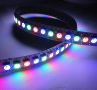 10 X 1m 144 LEDs/M 5050 RGB WS2812B Chip Black PCB WS2811 IC Digital 5V LED Strip Light