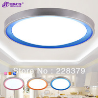 2013 NEW Modern LED Ceiling Light Round bedroom living room led ceiling lamps free shipping