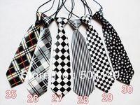 30 designs free shipping baby/kid/children ties neck tie ties Boys Girls tie 20pcs/lot