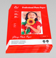 Advanced Photos Paper A4 Premium Glossy Paper Inkjet Printing Senior High-waterproof  Photo Paper 20pcs/bag