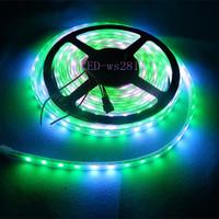 20m 5X4M 60 Pixel/M WS2812B WS2811 Waterproof LED Strip Addressable &5V