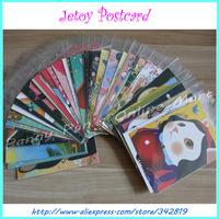 40 Pcs Different Style Friend Festival Greeting Postcard Cute Cartoon Korea Jetoy Cat Christmas New Year School Wishing Postcard