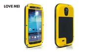 Lvoe Mei,1 piece/lot Dustproof Shockproof Waterproof Case Cover For Samsung Galaxy S4 i9500,Free Shipping