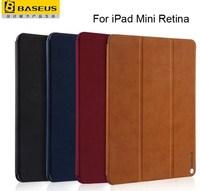 For Apple iPad Mini Retina Baseus Simplism Series Smart Cover Stand Flip Cover Protective Leather Case For iPad Mini Free Ship