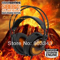 Steelseries Siberia V2 Gaming Headphone, Siberia v2 Heat Orange Edition Gaming Headset  Free & Fast Shipping, Drop shipping