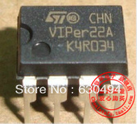 Free Shipping 10PCS Low Power OFF Line SMPS Primary Switcher VIPER22 VIPer22A , DIP, IC