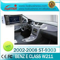 Original autoradio gps For Mercedes Benz CLS W219 With gps bluetooth radio tv dual canbus steer wheel control