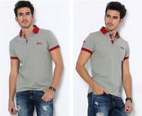 New arrival men's polo shirts men's short sleeve clothes fashion 2014 summer spring polo shirt men free shipping