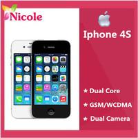Iphone 4S Original 4S GPS WIFI 3.5 Screen 16GB / 32GB / 64GB storage Dual Core Phone  In sealed box 1 year warranty