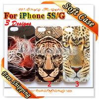 Чехол для для мобильных телефонов 1 Piece Smooth Vintage US UK Flags Skull Flowers Cases for iPhone 3 3gs