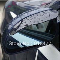 Free Shipping Car Rain Shield Flexible Rubber Car Rearview Mirror Rain Shade Shower Blocker Cover Sun Auto Accessories