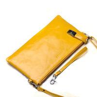 Women's leather handbags GENUINE leather multi-function ladies clutch bag handbags