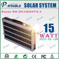 including 15w solar panel,10A integration controller 150w inverter,AC Charge solar energy system