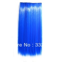 5 color Straight clip in hair extensions hairpiece hair pieces accessories color 110g Super beautiful