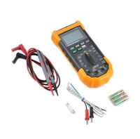 "YeHai YH-129 2.4"" LCD 5-in-1 Digital Multimeter - Orange + Deep Grey"