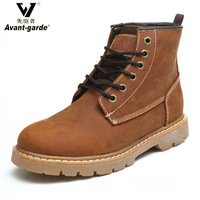 2014 Avant garde men women unisex martin boots lace up the trend of fashion genuine leather tooling boots outdoor shoes 316