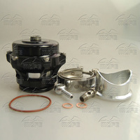 SPECIAL OFFER SPECIAL OFFER MOFE Aluminum V-band 50mm Q With Flange Clamp BOV Blow Off Valve Black