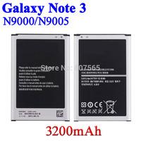 2 pcs 3200mAh 3.8V Phone Battery For Samsung Galaxy Note 3 III N9000 N9006 N9005 Batterie Bateria Batterij Accumulator AKKU PIL