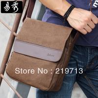 Free Shipping Men's Small Canvas Bags Shoulder Bag Casual Messenger Bag
