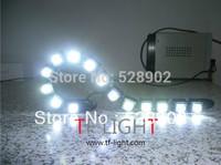 New Arrivals 2x14 LEDs Flexible light strip auto DRL Lens Waterproof universal DIY car LED daytime running lights lenth 45cm