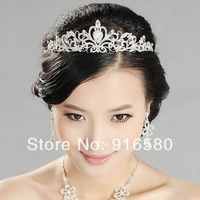 Luxury Wedding Crown Princess Crown Tiara Pageant Crowns Bridal Tiara Top Quality Crystal Rhinestone Tiara