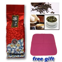 Free shipping Chinese oolong tea, Fujian Tie Guan Yin Health Care Super Good Taste,New 2013 Bulk,125g,With Tea Towel Free Gift