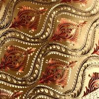 Gold Metallic Wallpaper 3D Roll Luxury Glitter Phoenix Foil Mosaic Mica Wall Paper KTV Wall Decor papel de parede Floral