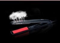 ceramic coating  hair straightener european plug straight clip iron straightening perm pull straight board dual stick