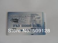 Wholesales 100% guaranttee!!! American Express credit card usb flash drive pen drive flash memory stick