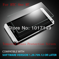 New Tech Armor Premium Tempered Glass Screen Protector Protective Film For HTC one M7 With Retail Package MOQ:1pcs G014