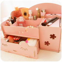 Wool drawer jewelry box cosmetics storage box storage box storage box stationery 1051