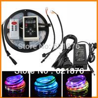 IC6803 IP67 5M DC 12V 5050 133P SMD RGB Dream Magic Color 150 led strip digital+133 Effects RF Controller+12V 5A Power Supply