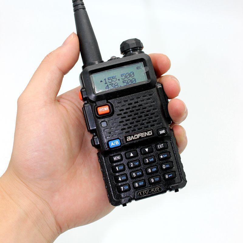 BAOFENG UV-5R two way radio walkie talkie 136-174/400-520MHz VHF/UHF Dual Band portable Radio Ham Handheld Tranceiver FM Radio(China (Mainland))
