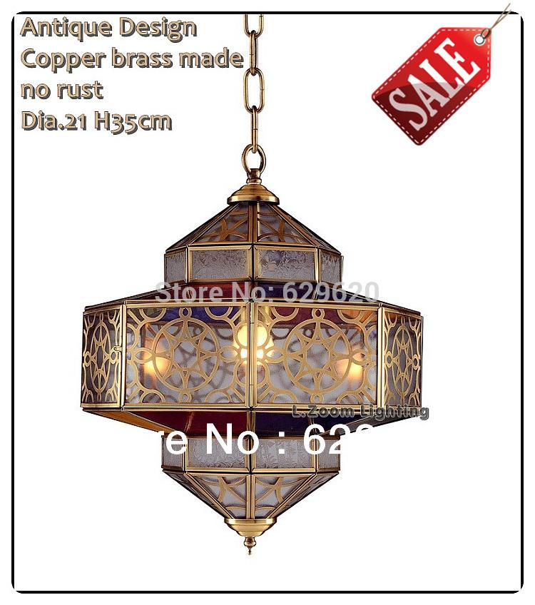 2014 Vintage Copper Antique Design Pendant Lights / Brass Made No Rust Handmade Lighting Fixtures, Arabic Morrocan Hang Ligtings(China (Mainland))
