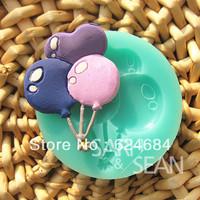 Three turn sugar mould chocolate mould silicone balloon sugar sugar mode/free shipping