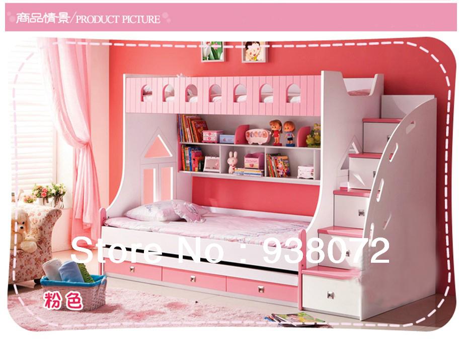 Online kopen wholesale kinderen stapelbed uit china kinderen stapelbed groothandel - Stapelbed met opslag trappen ...