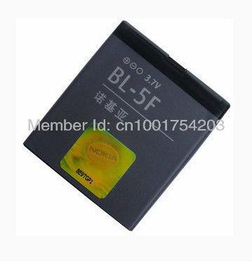 BL-5F Li-ion Polymer Battery for Nokia 6290 6710 E65 6210 N78 N96 N95 N93i(China (Mainland))